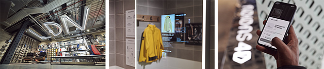 Impressionen des neuen Adidas Flagship Store in London